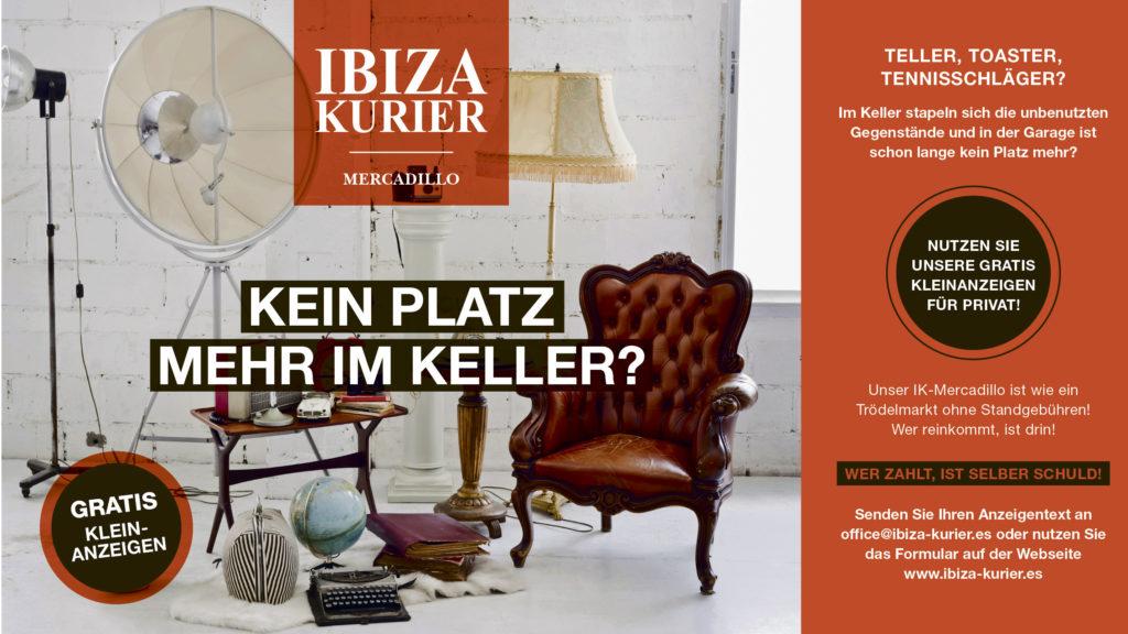 Private Kleinanzeigen in der deutschen Zeitung für Ibiza und Formentera sind kostenlos.
