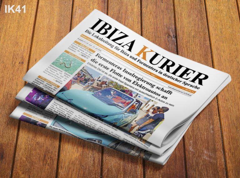IBIZA KURIER 41/2016 - Aktuelle Nachrichten über Ibiza: Avicii, Eierschalen für die Zähne, Bloop-Festival, Dienstleistungssektor, Adoptionen, Jugendstatistik, Cristiano Ronaldo, Zikaden, Tourismus-Kollaps
