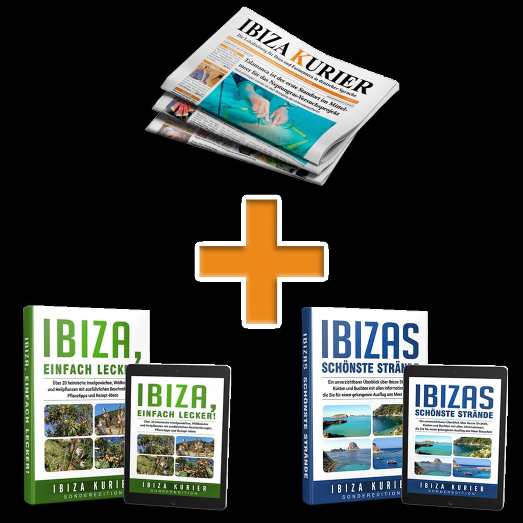 Komplettpaket: Jahres-ePaper-Abo plus 2 Ibiza-eBooks