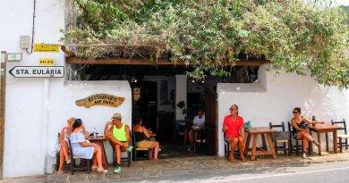 Insel-Treffpunkt im Norden: Bar Anita in San Carlos