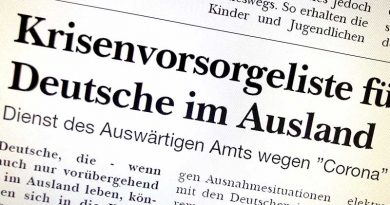 Krisenvorsorgeliste für Deutsche im Ausland