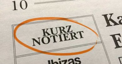 KURZ NOTIERT