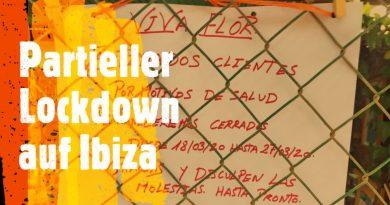 Über den Lockdown von Ibiza-Stadt und San Antonio wird am Montag entschieden