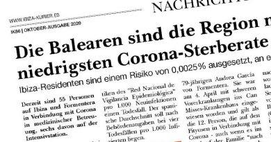 Die Balearen sind die Region mit der niedrigsten Corona-Sterberate in Spanien