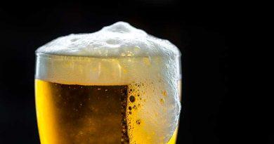 Die Krankheit rausschwitzen mit warmem Bier