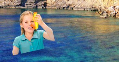 Eine Nasendusche mit ibizenkischem Meerwasser eliminiert Erreger