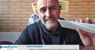 """Polizist suspendiert, weil er Maske verweigert – Will """"kein Feigling"""" sein: Navarro riskiert lieber seine Stelle und sein Gehalt anstatt die Gesundheit"""