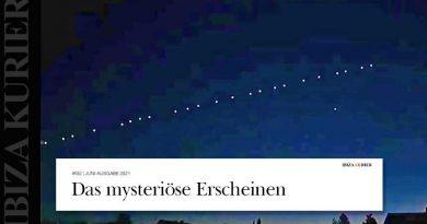 Elon Musks Starlink-Satelliten blinken als Perlenkette am ibizenkischen Nachthimmel