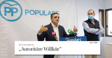 """Kritik im Balearenparlament: """"Autoritäre Willkür"""" – Corona-Beschränkungen außerhalb des Gesetzes"""