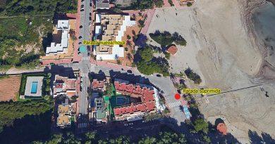 Bushaltestelle Cala Llonga an neuem Platz – Rathaus reagiert auf die Anfragen der Anwohner