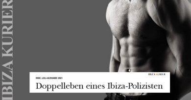 """Ibiza-Polizist, der sich als """"Stripper"""" anbot – Beamte präsentierte sich im Internet in Dienstuniform"""