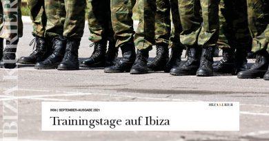 Armeetraining absolviert: Üben für Notfälle und Katastrophen auf Ibiza – Soldaten erkundeten strategische Punkte und mögliche Evakuierungswege