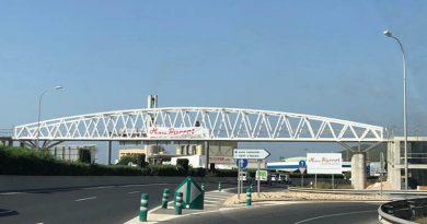 Sicher zur Fuß auf Ibiza: Überführung über die Schnellstraße – Neue Brücke verbindet Puig d'en Valls mit dem Zentrum