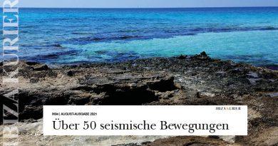 Die Erde lebt: Leichte Erdbeben im Meer vor Ibizas Küste – Zu tief und zu leicht, um etwas zu spüren oder Schaden zu verursachen