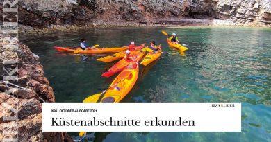 Mit dem Kajak unzugängliche Küstenabschnitte erkunden – Kursangebot des Club Náutico Ibiza feiert 20-Jähriges