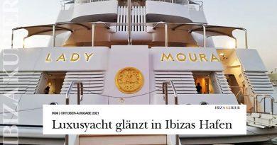 "Saudi-Magnat verkauft ""Lady Moura"" an Mexiko-Milliardär – Namenslettern am Rumpf sind mit 24-Karat Gold überzogen"